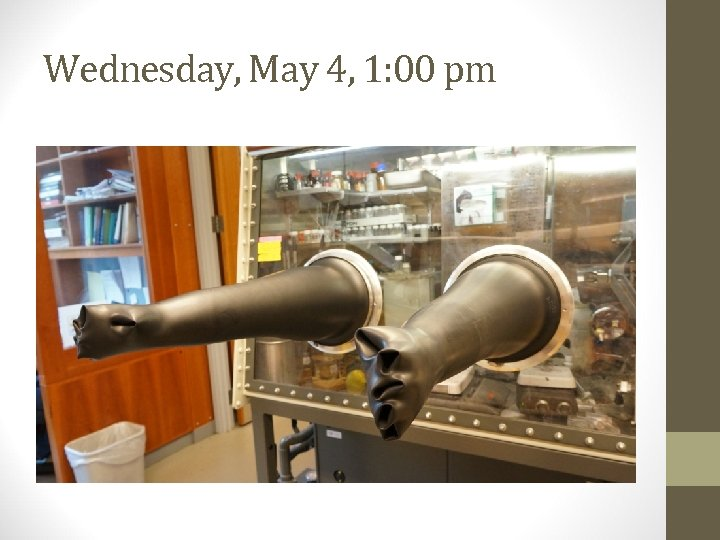 Wednesday, May 4, 1: 00 pm