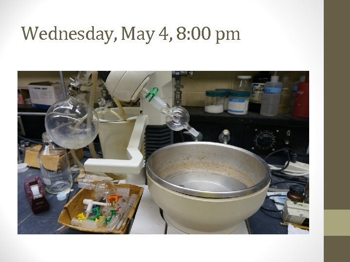 Wednesday, May 4, 8: 00 pm