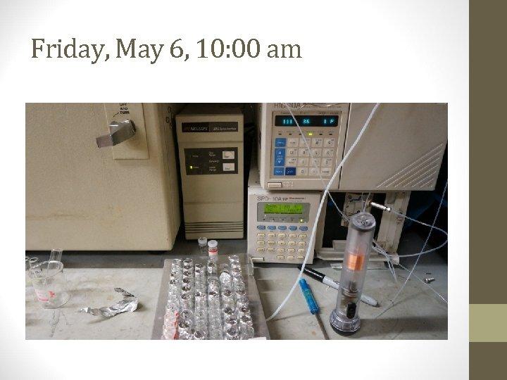Friday, May 6, 10: 00 am