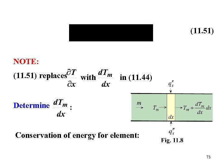 (11. 51) NOTE: (11. 51) replaces Determine with in (11. 44) : Conservation of