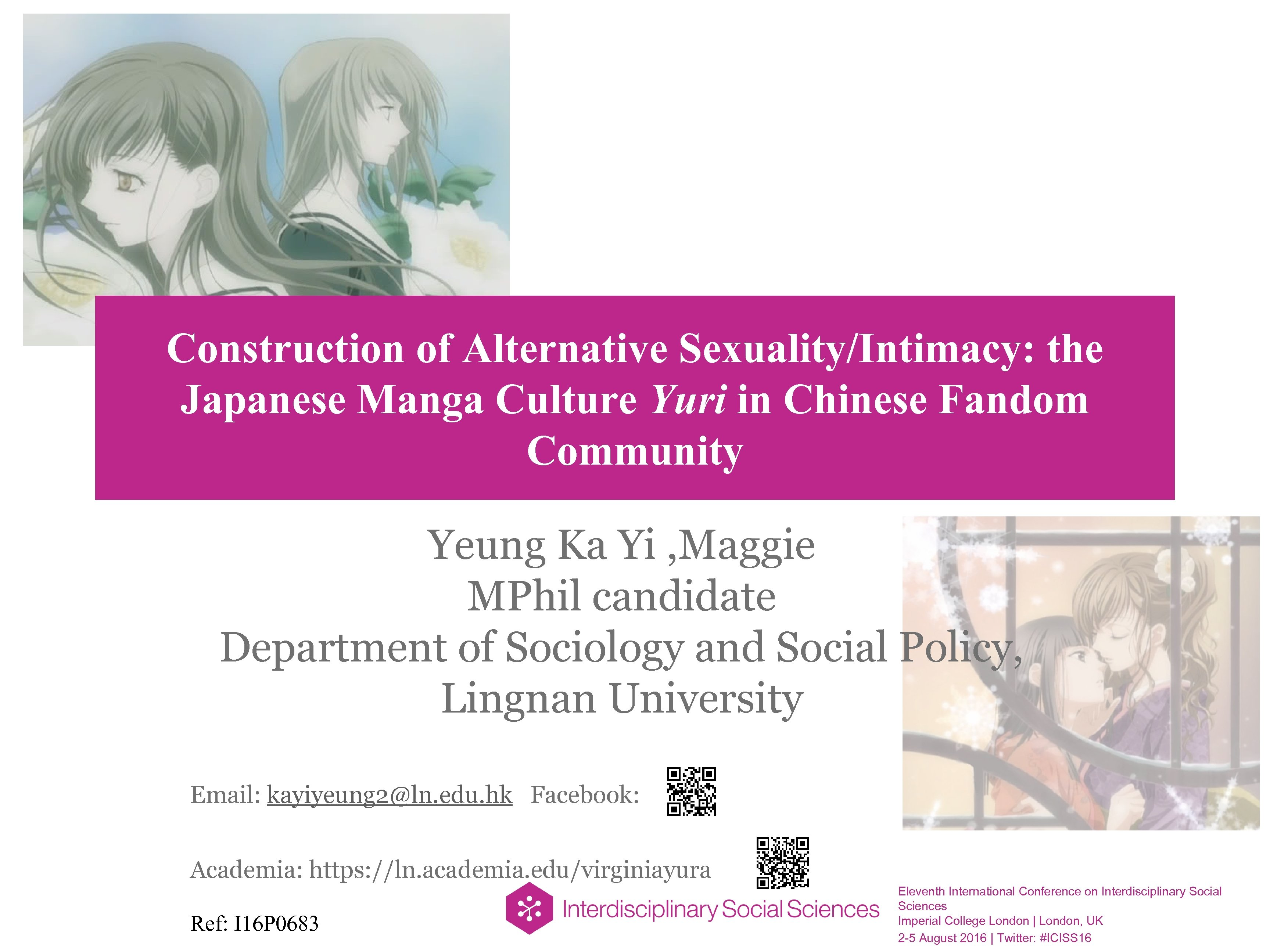 Construction of Alternative Sexuality/Intimacy: the Japanese Manga Culture Yuri in Chinese Fandom Community Yeung
