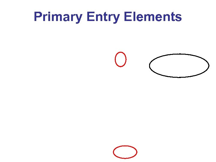 Primary Entry Elements
