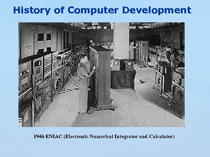 """the eniac story historical account of As for whether eniac—or any other claimant—was the first computer, """"you'll never get a good historian to give you a straight answer,"""" haigh said """"we kind of agree to split the trophy, and everyone gets the first with a whole bunch of adjectives so eniac is the first electronic digital general-purpose computer."""