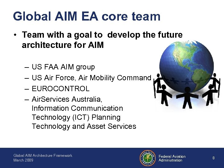 Global AIM EA core team • Team with a goal to develop the future