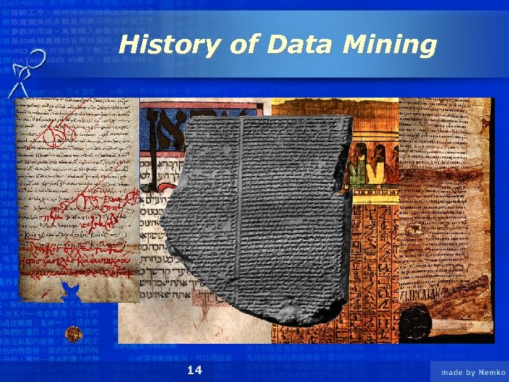 History of Data Mining 14