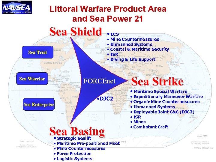 Littoral Warfare Product Area and Sea Power 21 Sea Shield Sea Trial Sea Warrior