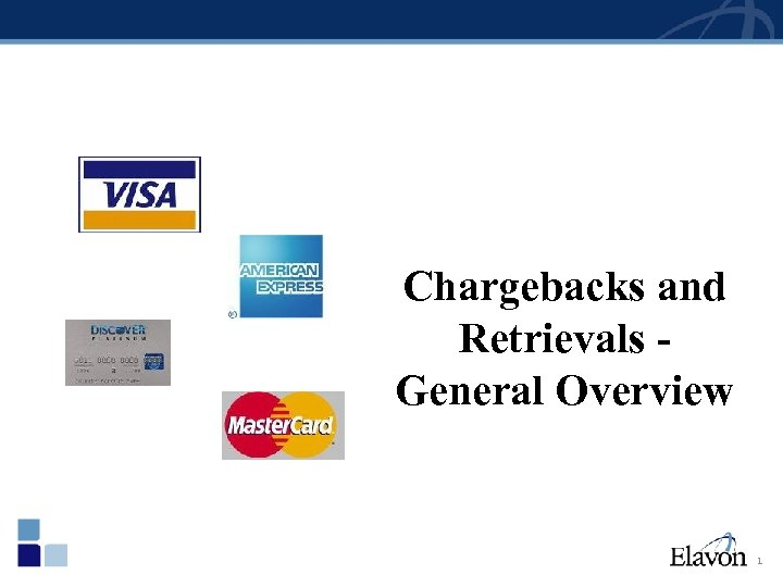 Chargebacks and Retrievals General Overview 1