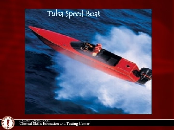 Tulsa Speed Boat