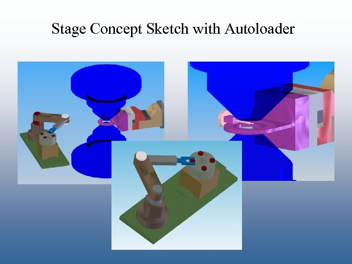 Stage Concept Sketch with Autoloader