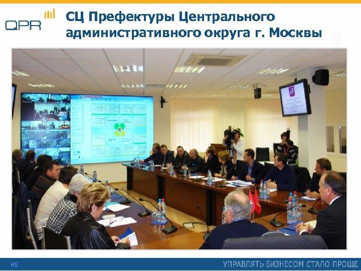 СЦ Префектуры Центрального административного округа г. Москвы 45