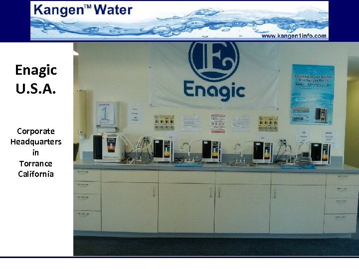 Enagic U. S. A. Corporate Headquarters in Torrance California