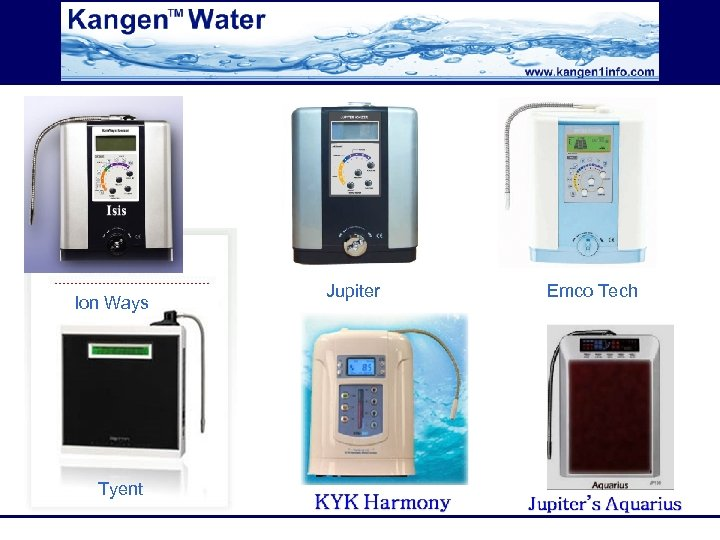 Ion Ways Tyent Jupiter Emco Tech