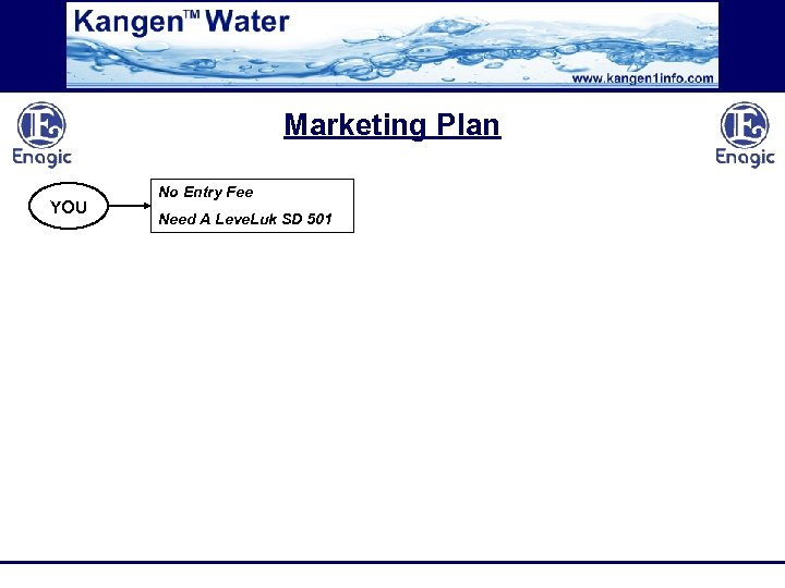 Marketing Plan YOU No Entry Fee Need A Leve. Luk SD 501