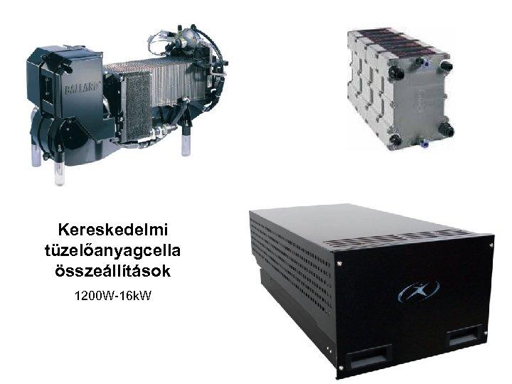 Kereskedelmi tüzelőanyagcella összeállítások 1200 W-16 k. W