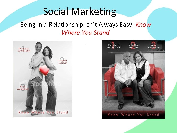 Social Marketing Being in a Relationship Isn't Always Easy: Know Where You Stand