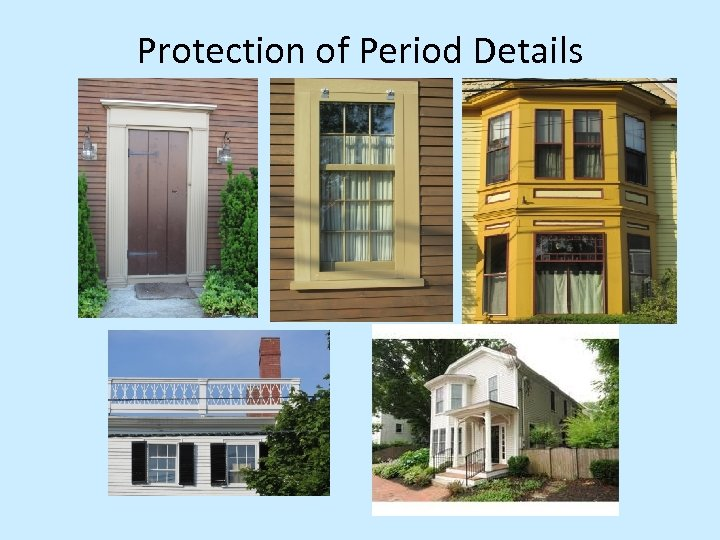 Protection of Period Details