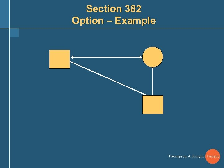Section 382 Option – Example