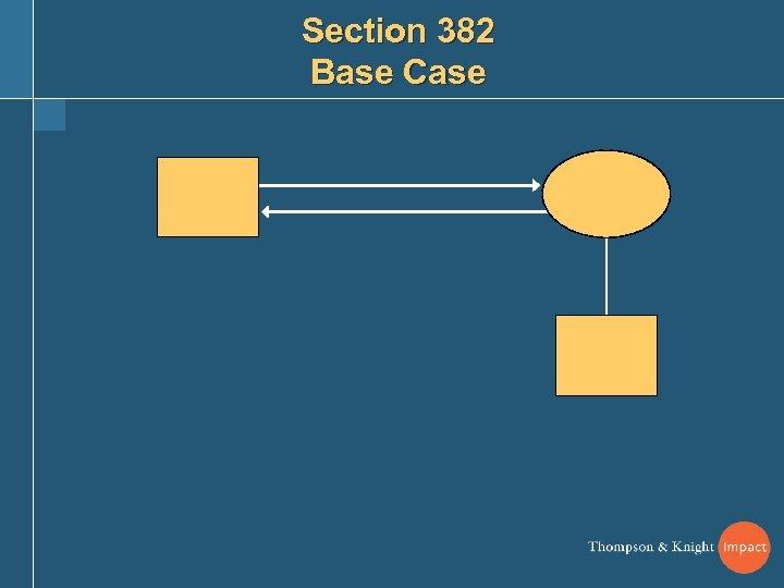Section 382 Base Case
