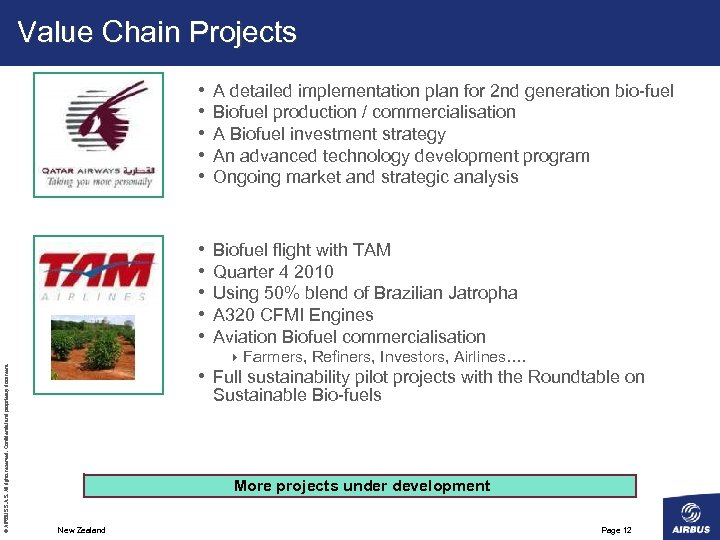 Value Chain Projects A detailed implementation plan for 2 nd generation bio-fuel Biofuel production