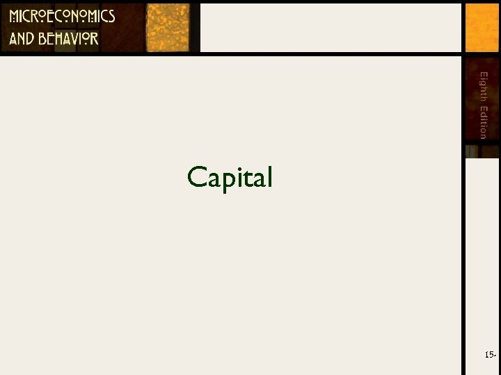 Capital 15 -