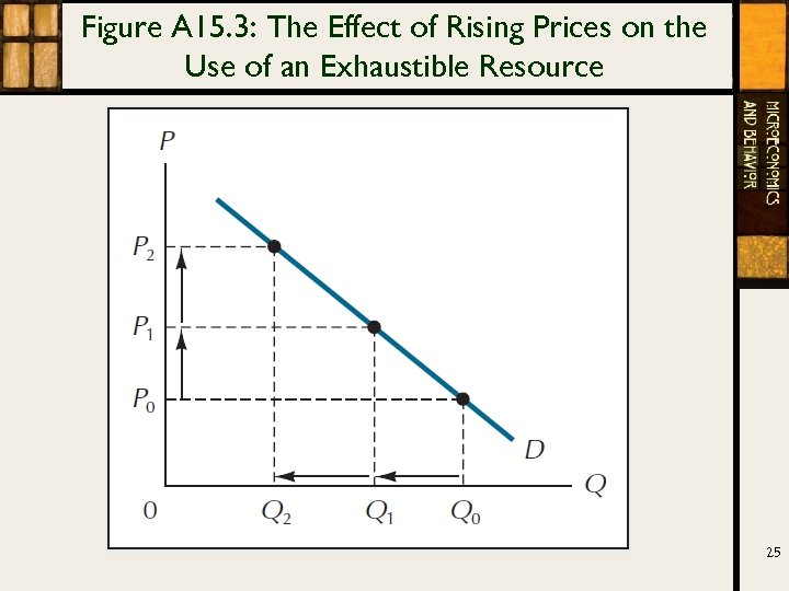 Figure A 15. 3: The Effect of Rising Prices on the Use of an