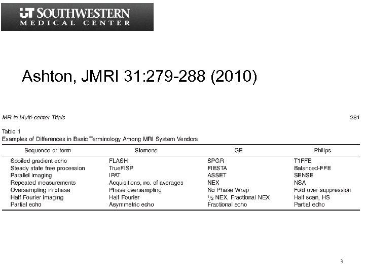 Ashton, JMRI 31: 279 -288 (2010) 3