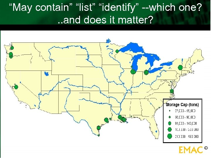 """""""May contain"""" """"list"""" """"identify"""" --which one? . . and does it matter? ©"""
