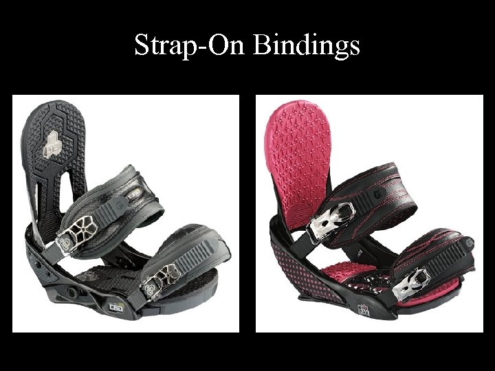Strap-On Bindings