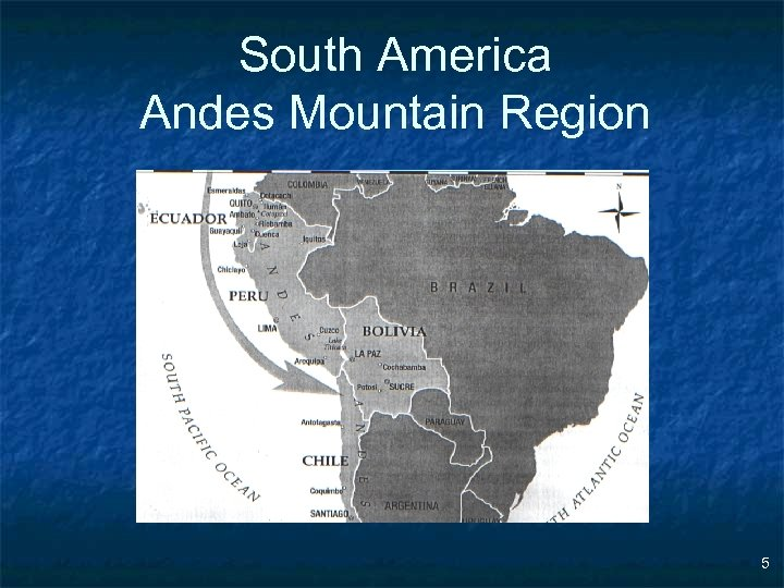 South America Andes Mountain Region 5