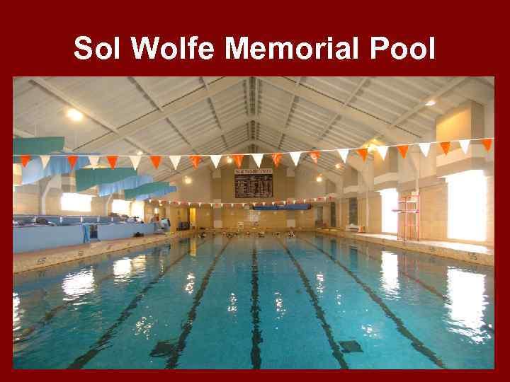 Sol Wolfe Memorial Pool