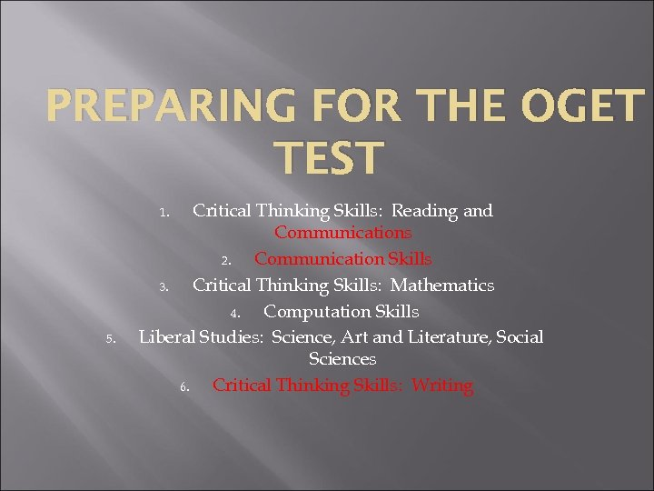 critical thinking skills writing