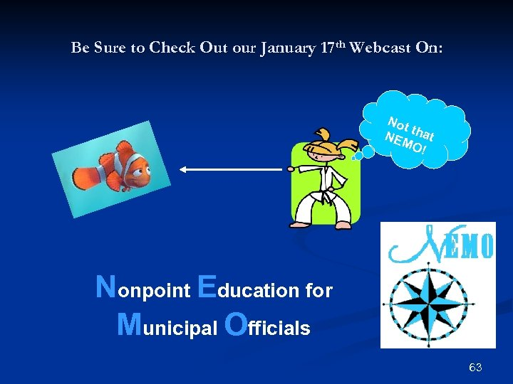Be Sure to Check Out our January 17 th Webcast On: Not t NEM