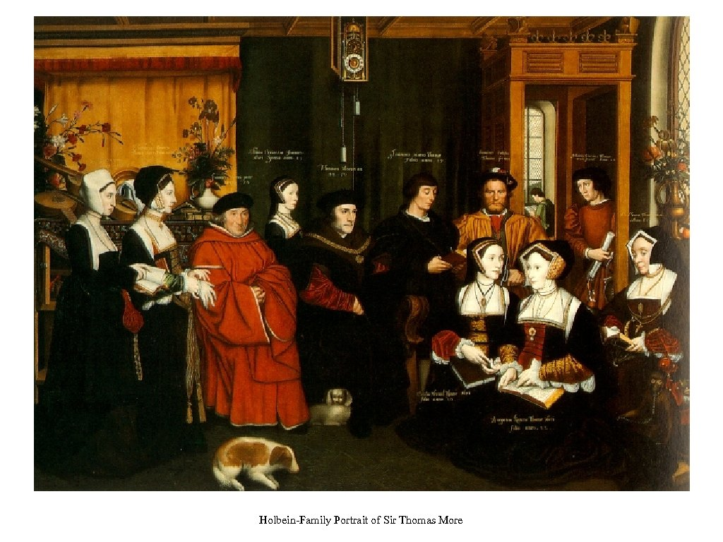 Holbein-Family Portrait of Sir Thomas More