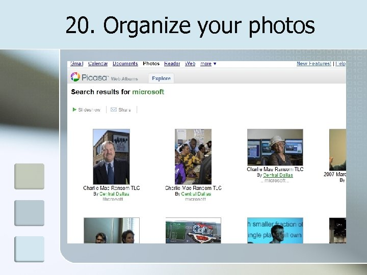 20. Organize your photos