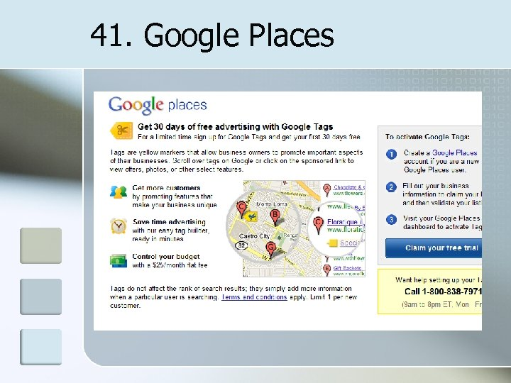 41. Google Places