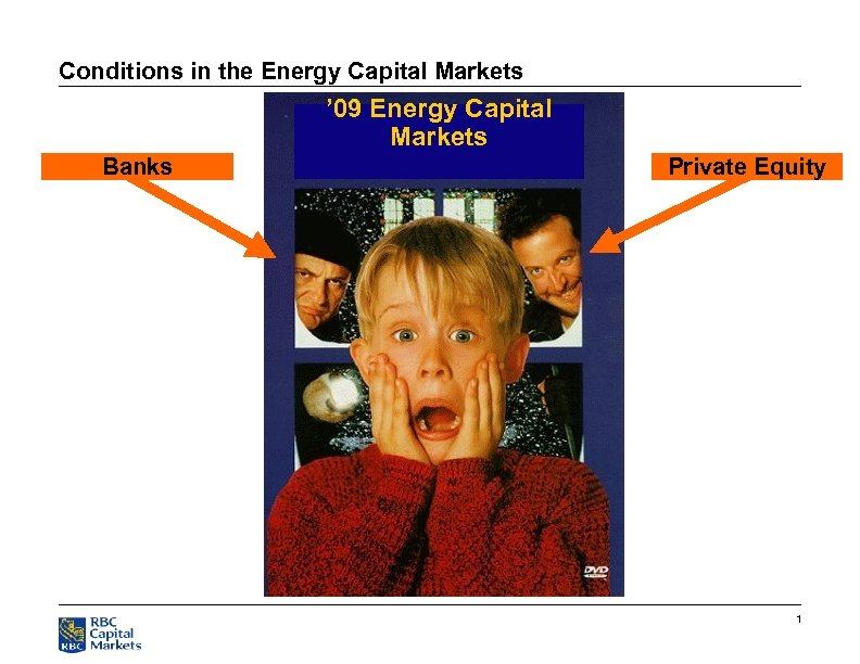 Conditions in the Energy Capital Markets ' 09 Energy Capital Markets Banks Private Equity