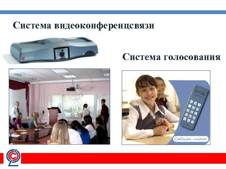 Система видеоконференцсвязи Система голосования