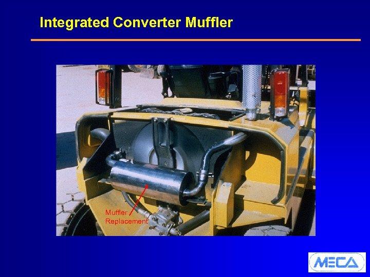 Integrated Converter Muffler Replacement