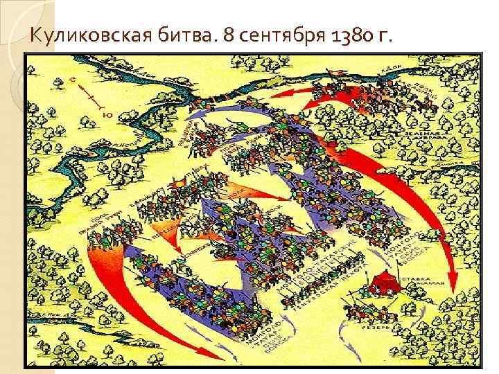 Куликовская битва. 8 сентября 1380 г.