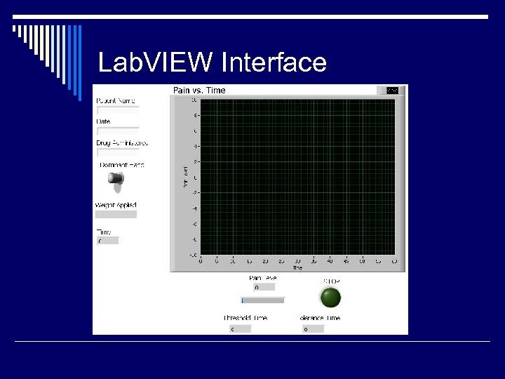 Lab. VIEW Interface