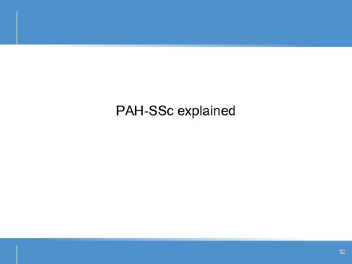PAH-SSc explained 52