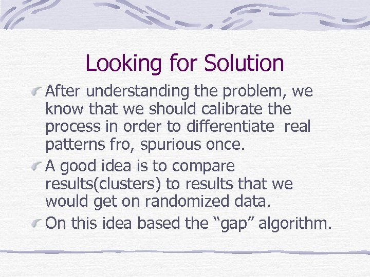Looking for Solution After understanding the problem, we know that we should calibrate the