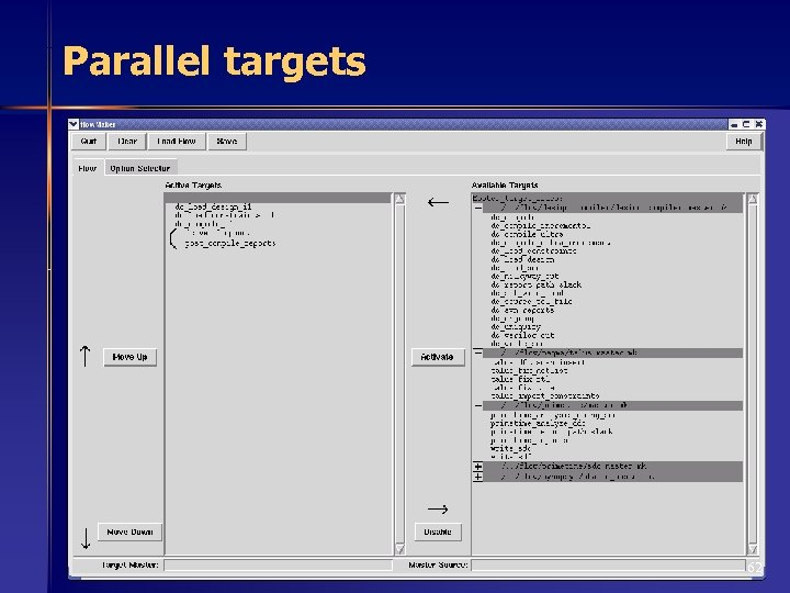 Parallel targets 62