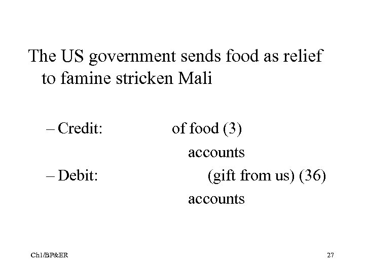 The US government sends food as relief to famine stricken Mali – Credit: –