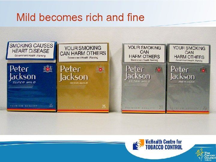 Mild becomes rich and fine
