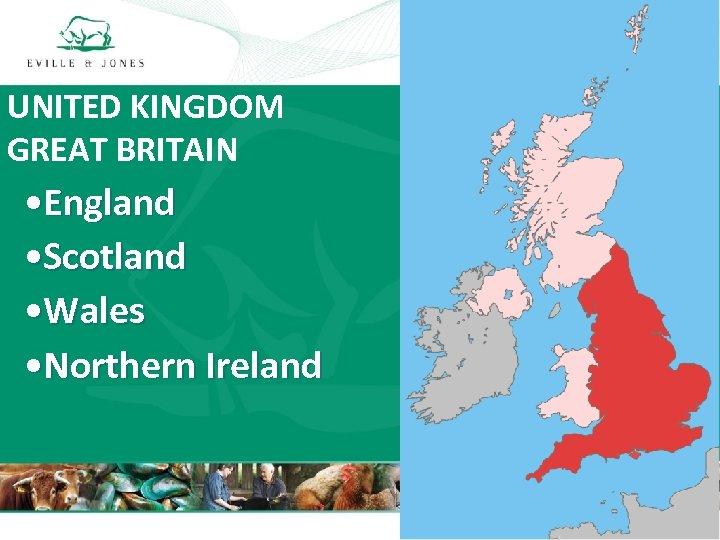 UNITED KINGDOM GREAT BRITAIN • England • Scotland • Wales • Northern Ireland