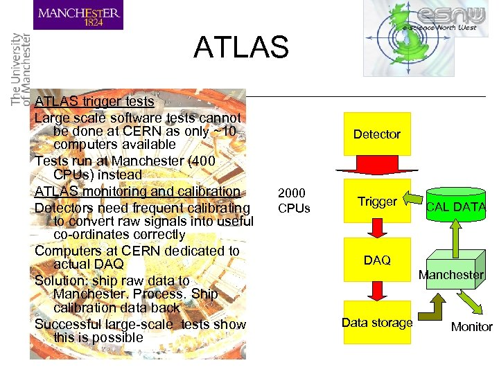 ATLAS trigger tests Large scale software tests cannot be done at CERN as only