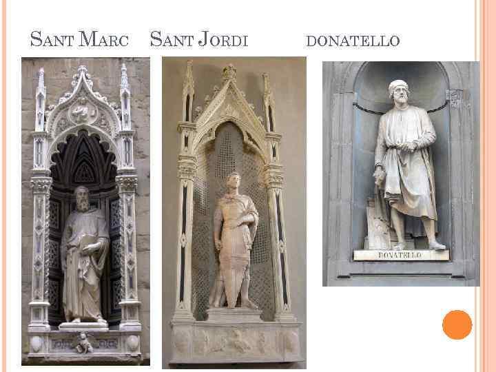 SANT MARC SANT JORDI DONATELLO