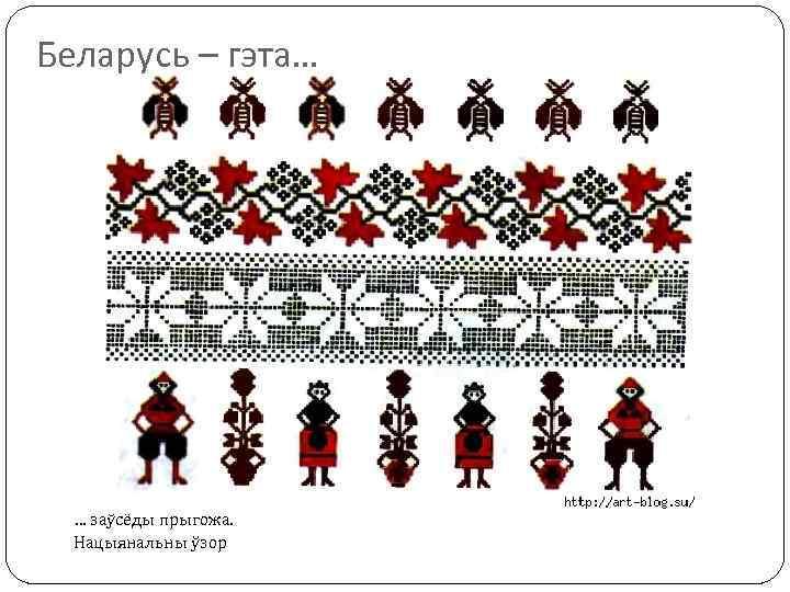 Беларусь – гэта… … заўсёды прыгожа. Нацыянальны ўзор