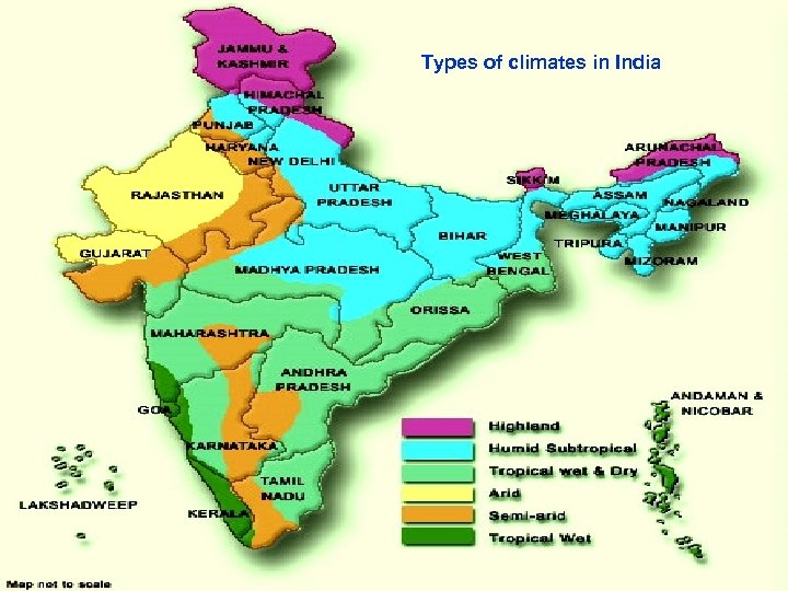 Types of climates in India 3